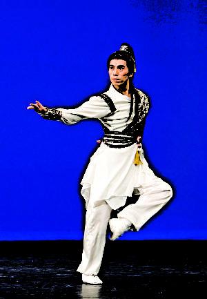 著名舞蹈藝術家陳永佳。(新唐人電視台提供)