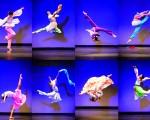 2014年10月,第六屆「全世界中國古典舞大賽」青年女子組的比賽畫面。(愛德華/大紀元資料圖片)