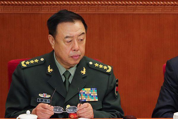 """按照惯例,现任中共军委副主席范长龙到明年""""十九大""""时,将到龄退休。谁将接替其职务,有三大变数。(Lintao Zhang/Getty Images)"""