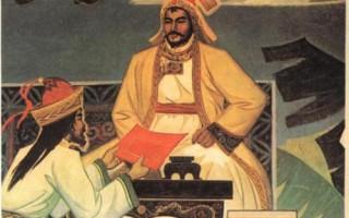 成吉思汗征戰歸來。蒙古伊兒汗國時期著名史學家拉施特.勿丁所著《史集》中的插圖。(公有領域)