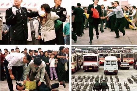 """中共前党魁江泽民一手发动了对法轮功修炼团体的镇压,这是利用整个国家机器,针对中国大陆及海外数千万信仰""""真、善、忍""""的无辜百姓的犯罪行为。(大纪元)"""