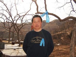 为法轮功上书而遭中共判刑的中国良心律师高智晟。(大纪元)
