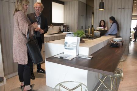 室内设计师Martin Kobus设计的厨房。(李晴照/大纪元)