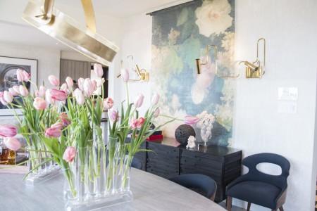 室内设计师Martin Kobus设计的餐厅(李晴照/大纪元)