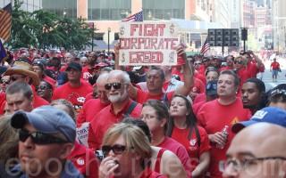 四万工人罢工月余 电信巨头Verizon撑得住?
