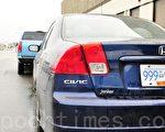 本田老款CIVIC,最易被盗车型之一。(大纪元资料图片)
