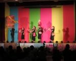 """2016年北美地区台湾传统周,访问团""""极至体能舞蹈团""""表演。"""