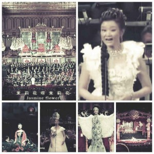 在江澤民得勢時期,宋祖英「紅得發紫」,竭盡張揚,不但在國內連年佔據春晚,而且幾乎跑遍了歐美一流的音樂廳「鍍金」。(網絡圖片)