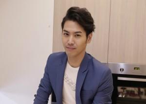 陈德烈在台北出席活动,为知名家电产品设计创新料理。(公关提供)