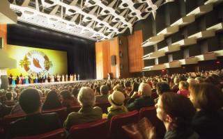 2016年4月30日至5月1日,美國神韻國際藝術團在加拿大蒙特利爾進行了2天3場的演出。魁北克省長給神韻發賀信,感謝神韻帶來全新體驗和藝術震撼力。(艾文/大紀元)