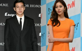 韓娛樂圈再誕生一對明星情侶,圖為演員李相侖(左)與UIE資料照。(大紀元,newsis/大紀元合成)