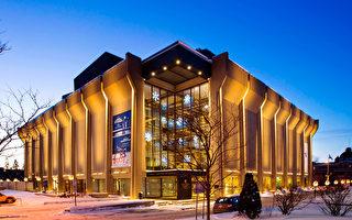 2016年5月3日,美國神韻藝術團在魁北克城舉行今年首演,熱情的魁北克觀眾表示神韻晚會美不勝收,且給人類生命帶來啟迪。圖為魁北克城大劇場。(大紀元資料照片)