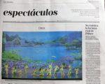 阿根廷日報《LA NACION》5月3日刊登文章,向阿根廷人推薦神韻演出。(大紀元圖片)