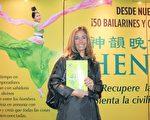 Felicitas Duche女士於5月7日下午觀看了神韻巡迴藝術團在布宜諾斯艾利斯Opera劇院的演出。(林南/大紀元)