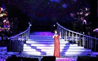 蔡琴特製華服配金聲 台北開唱三天