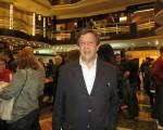 2016年5月8日晚,從事商業工作的Carlos Blanco觀看了美國神韻巡迴藝術團在阿根廷布宜諾斯艾利斯Opera劇院(Teatro Opera Allianz)的第五場演出。(林南/大紀元)
