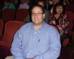 5月10日晚,神韵纽约艺术团在美国宾州匹兹堡市本尼德表演艺术中心(The Benedum Center for the Performing Arts)的第二场演出结束。软件公司老板Joe Rafail先生与家人一起观看了当晚的演出。(肖捷/大纪元)
