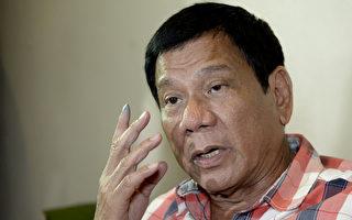 菲律宾总统杜特蒂日前指出,许多华人在菲律宾贩毒。他亲自点名菲国3大毒枭,均为华人姓氏。(NOEL CELIS/AFP)