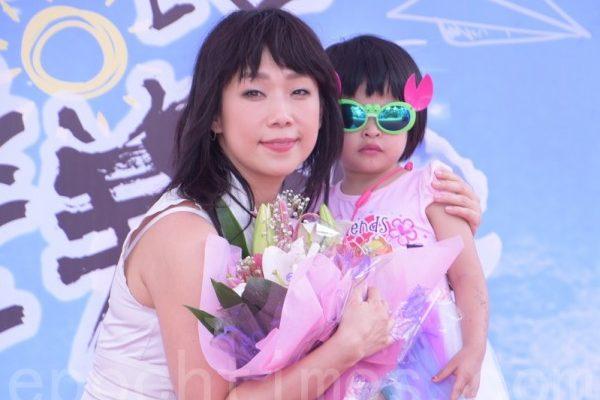 林忆莲于2016年5月14日在台北出席公益爱滋宣导活动。(黄宗茂/大纪元)