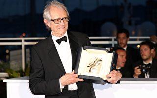 图为英国导演肯洛区,以所导的剧情片《我是布莱克》,一举夺下代表最高荣誉的金棕榈奖。(Andreas Rentz/Getty Images)