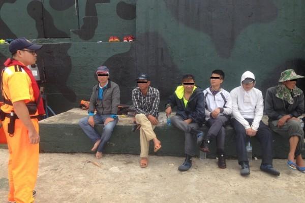 7名大陆客金门外岛钓鱼 遭台湾当局羁押