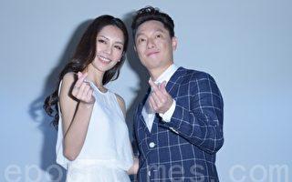 《Mr. Bartender》网路影集 第一阶段集资成功于2016年5月26日在台北正式宣布拍摄计划重新启动。图左起为廖奕琁、谢祖武。(黄宗茂/大纪元)