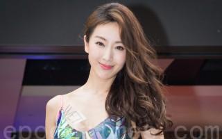 艺人隋棠活动资料照。(陈柏州/大纪元)