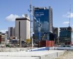 因澳洲房產巨頭Mirvac的突然放棄,西澳政府的珀斯城市連線項目陷入窘境。圖為在建中的珀斯城市連線工程。(周鑫/大紀元)