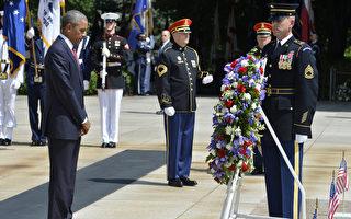 紀念陣亡將士 歐巴馬籲付出愛支持遺族