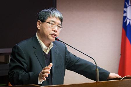 台湾智库副执行长赖怡忠说,现在两岸关系已经非常复杂,不太可能浓缩在九二共识中,对岸想要的,蔡英文都已经想尽办法提供了。(陈柏州/大纪元)