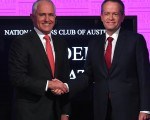 澳洲總理特恩布爾首次作為黨魁和反對黨領袖肖頓(Bill Shorten)進行了辯論。 (AAP Image/Tracey Nearmy) NO ARCHIVING