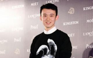 最佳新演员入围者董子健出席金马奖入围酒会。(丘普林/大纪元)