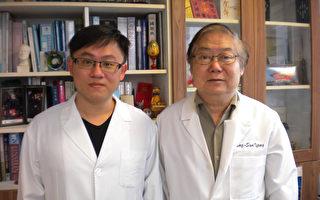 中研院楊寧蓀(右起)、尹書翊等人研究證實,利用植物萃取物合成的Q2-3,可成功抑制乳癌細胞轉移。 (中研院提供)