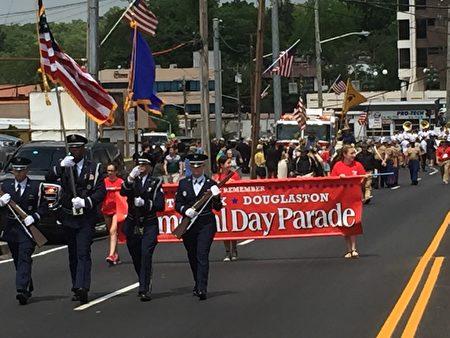 2016年5月30日纽约国殇日游行。