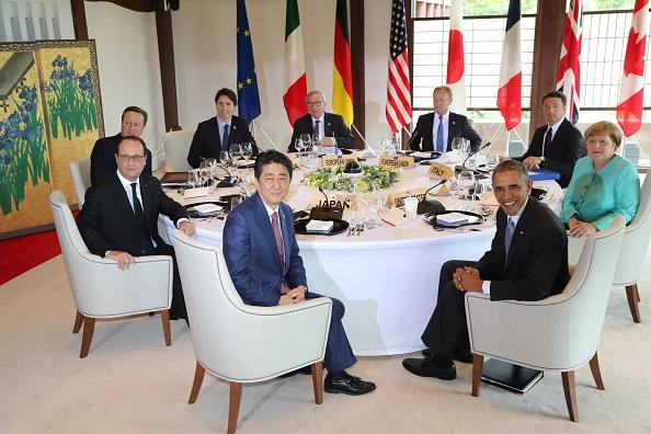 G7峰会 日本促采取行动避免又一场经济危机