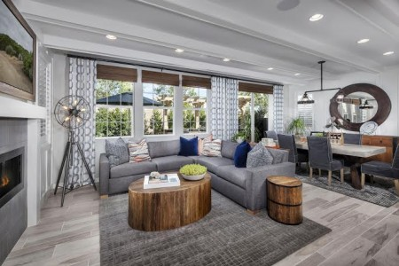 TRI Pointe Homes的樣板房,展示了最新設計。(商家提供)
