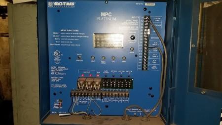公寓樓的供暖系統可以設置開關日期。 (韓瑞/大紀元)