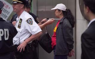 李华红被警察当场拘捕。 (民众提供)
