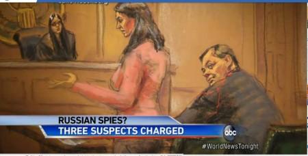 5月25日,美國聯邦當局判處一名在紐約以銀行家身份為掩護的俄羅斯間諜坐監2年半,聯邦檢察官巴拉拉(Preet Bharara)稱這個案件「好像冷戰時代電影情節」。(ABC視頻截圖)