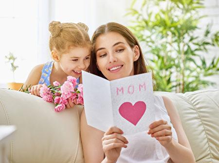 母亲节贺卡仍是最普遍礼品。(fotolia)