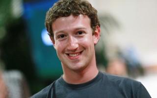 脸书创办人扎克伯格。( Justin Sullivan/Getty Images)