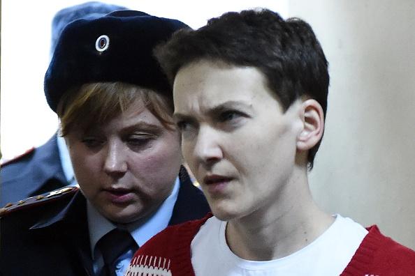 俄乌交换战俘 乌克兰女飞行员获释