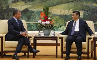 习近平告诉迪士尼总裁将加强跟外国团体合作