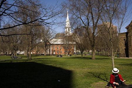 位于美国康州New Haven的耶鲁大学校园。 (Christopher Capozziello/Getty Images)