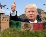 美国共和党总统参选人川普誓言在美墨边境筑墙,并让墨西哥买单。这个秦始皇长城式的理念得到了许多人的赞同。(网络图片)