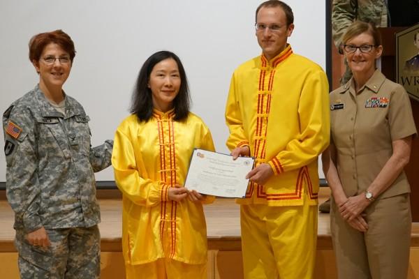 美马里兰州亚裔月 法轮功获军方和市政褒奖