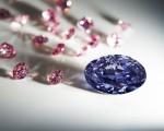 西澳阿盖尔(Argyle)矿场开采出史上最大的2.83卡拉紫罗兰钻 -The Argyle Violet™ 。(Rio Tinto)