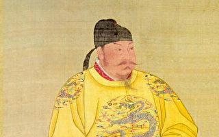 唐太宗画像,绢本设色,北京故宫南薰殿旧藏,现藏台北故宫博物院。(公共领域)