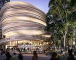 上週六,由日本隈研吾建築師事務所(Kengo Kuma)為悉尼達令廣場設計的「圓塔」圍欄公寓,在4小時內售罄。圖為「圓塔」圍欄公寓。(Kengo Kuma)