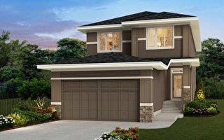 豪宅建築商ALBI在Symons Gate社區推出中端價位的豪宅,圖為展示屋。(大紀元資料)